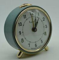 1960s Vintage Mechanical Desk Alarm Clock VITYAZ Soviet Retro Decor Antique USSR