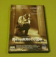 DVD.- RESURRECCION - CHRISTOPHER LAMBERT - RUSSELL MULCAHY - DESCATALOGADA