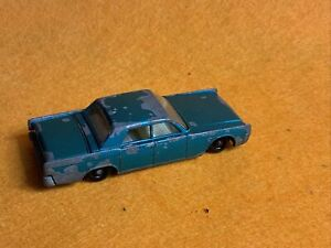 Vintage Matchbox Lesney 31C Lincoln Continental 1964 Combined Post