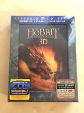 THE HOBBIT - THE DESOLATION OF SMAUG - EXTENDED EDITION 3D BLU-RAY - NEW