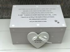 Personalised LARGE Memory Box Loved One ~ DAD ~ Or Any Name ~ Bereavement Loss