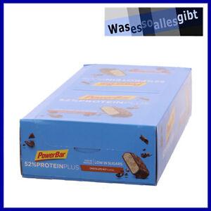 SCHNÄPPCHEN! PowerBar Protein Plus 52% ChocolateNut  MHD 09/21  #FO 21881