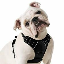 New listing Dog Harness No Pull, Walking Pet Harness with 2 Metal Rings and Handle Adjustab