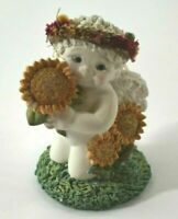 Dreamsicles Sunflower Days 2003 Kristin F499051 Baby Sunflower Angel Gift Decor