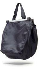 achilles Easy-Shopper Alu Faltbare Einkaufswagentasche schwarz 33x50x38cm