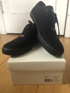 Ben Sherman Stevie Black Shoes New In Box US 12 Mens