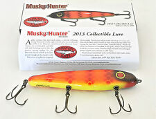 2013 Limited Todd Cleveland Musky Hunter 241/500 Phantom Glider Jerkbait PERFECT