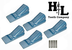 2AH H&L Original 2A Fab Bucket Tooth (5 Pack) Made in USA, Select Pins, 2AHX