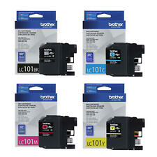 Brother LC101 Original Ink Cartridge Combo BK/C/M/Y For DCP-J152W MFC-J245