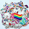 50pcs Cool Unicorn Stickers Graffiti Skateboard Luggage Decal - Non-Repeating -