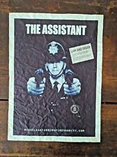 James Cauty Bring Back the Dixon,The Assistant 1/100 2007 distressed poster