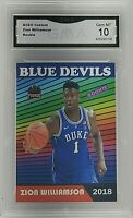 2018 ACEO Custom #1 Zion Williamson RC GMA 10