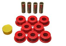 Energy Suspension Control Arm Bushing Set Red Rear for Toyota Camry # 8.3118R