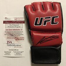 Autographed/Signed AMANDA NUNES UFC MMA Champion Red Glove JSA COA Auto