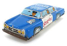Vintage Ichimura Airport Service Friction Toy Metal Car Tinplate Japan 60's