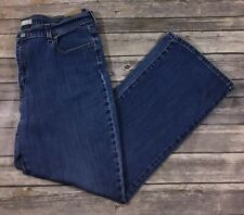 Levis 515 Womens Boot Cut Denim Jeans 16 Short Petites Medium Wash Stretch 319
