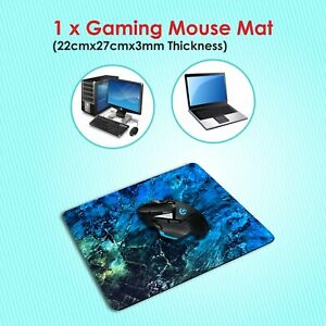Anti-Slip Gaming Mouse Mat Pad [Mouse Mats for PC Desk-Top Mac Laptop Computer]