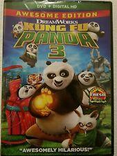 Kung Fu Panda 3 (DVD, 2016)  BRAND NEW, ORIGINAL, + DIGITAL HD   FREE SHIPPING