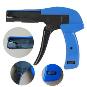 Nylon Wrap/Cable Zip Tie Strap Cutting Hand Tool Gun/Cutter Tension Fastener
