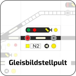 Gleisbildstellpult Layout nach SpDrS60 - NEU