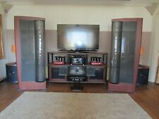 Martin Logan CLX Art Speakers and 2 Descent i Subwoofers with CLX Crossovers