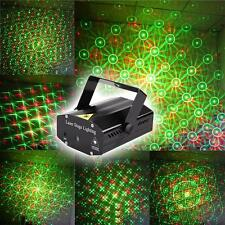 Black Mini Projector DJ Disco Light Stage RG Red Green Party Laser Lighting Show