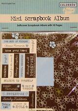 Colorbok Mini Scrapbook Kit Classic Moments Softcover Album & Stickers 55061
