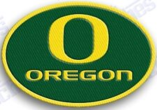 OREGON DUCKS  iron on embroidered PATCH COLLEGE UNIVERSITY SPORTS SCHOOL