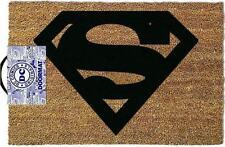 Tappeto Tappetino Zerbino Superman Dc Comics Sintetico 40x60 Cm Fuori Porta
