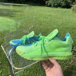 Adidas Dame 6 JamFest McDonalds Green Basketball Size 12 No Box Display Flawed