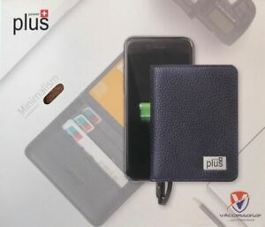 Wallet built in Portable External Battery Charger Power Bank Universal