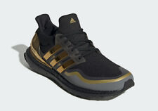 "Men's Adidas Ultra Boost ""Metallic Gold"" Athletic Fashion EG8102"
