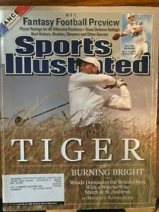 Sports Illustrated July 25, 2005 - Tiger Woods