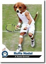 "RAFAEL NADAL 2013 SPORTS ILLUSTRATED TOP DOGS ""A TENNIS GRRRREAT"" CARD #D8"