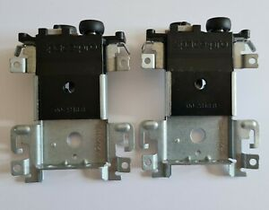 2x Space Pro top guide 00-2848-8 sliding wardrobe door parts (4212 JT) TAC2-4