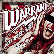 Warrant - Louder Harder Faster - CD - New