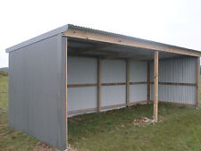 horse shelter - farm shed - storage shed -stable-  8x3