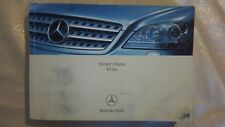 2008 Mercedes Benz M Class Owners Operators Manual Only Real book