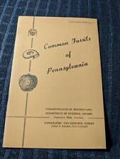 Common Fossils of Pennsylvania Donald Hoskins 1966 18 page pamphlet