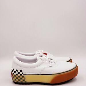 Vans Women's Era Stacked Sneakers Sz 8.5, 10 White 500714