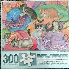"""Hat Shop Kittens"" 300-Piece Jigsaw Puzzle"