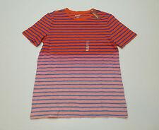 Arizona Womens Size Medium Pink Combo Striped T Shirt New
