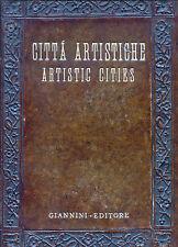 """"""" CITTA' ARTISTICHE. Quindici incisioni originali. E.CASPRINI - GIORGETTI """""""