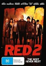 Bruce Willis DVD & Blu-ray Movies RED 2