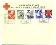 NEDERLAND  1927 RED CROSS SPEC POSTMARK/ COVER   F/ VF  VW. PR EX  @2