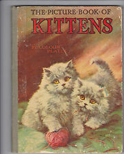 The Picture Book of Kittens by Jesse Pope  (HB, circa 1950's) *KAC*