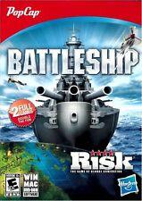 Video Game PC Battleship & Risk popcap gamesNEW SEALED