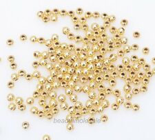 Wholesale 1000Pcs 3MM Round Metal Ball Spacer Beads DIY Jewelry Making Findings