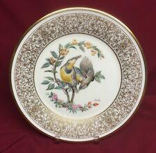 "Lenox E.M. Boehm Bird Series 10 1/2"" Meadowlark Plate 1973"