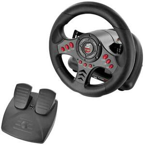 Subsonic Racing Steering Wheel SV400 Superdrive PS4, Xbox, Forza, GT with Pedals